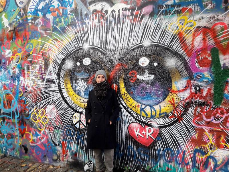 prague republique tcheque John Lennon wall street art