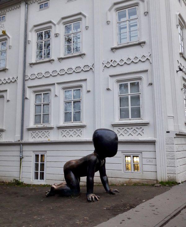prague republique tcheque david cerny art sculpture