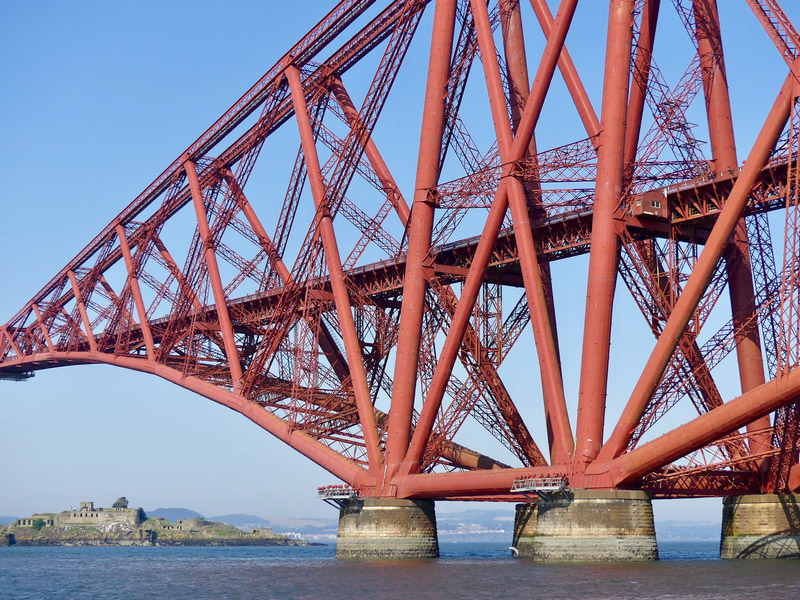 ecosse edimbourg queens ferry forth bridge