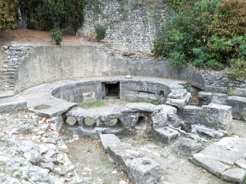 Nîmes gard romain castellum aquae