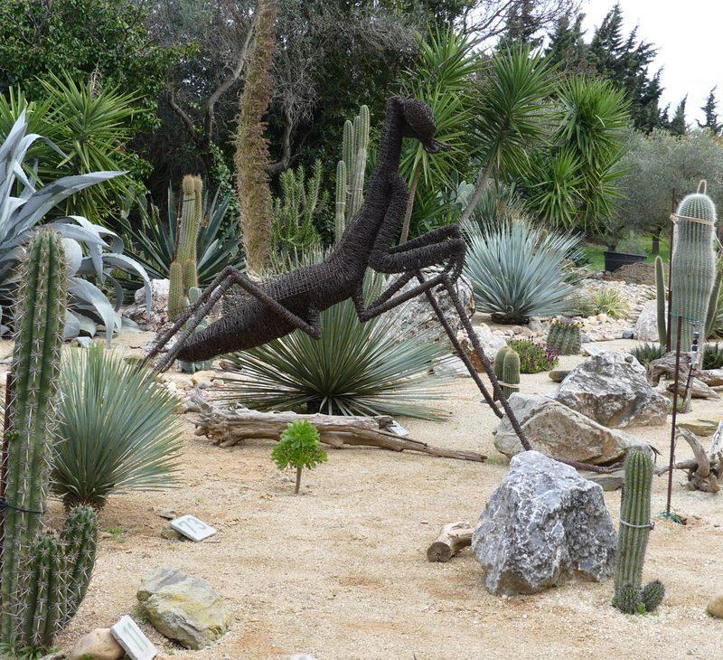 arboretum canet pyrenées orientales parcs jardin mante religieuse