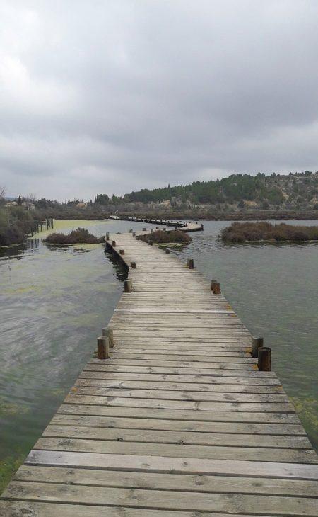 aude peyriac de mer occitanie ponton saline