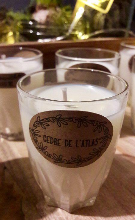 diy bougies maison