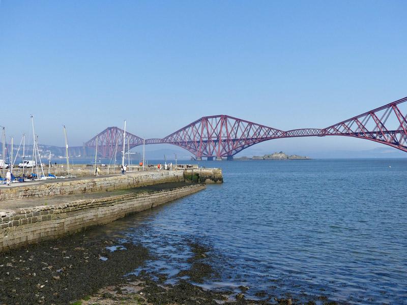 ecosse edimbourg queens ferry bridge pont