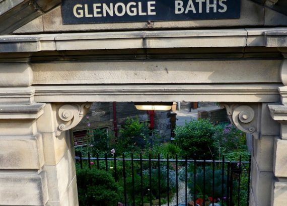 edimbourg ecosse glenogle baths garden 1
