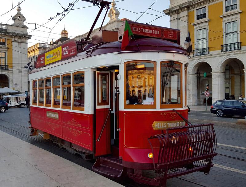 tramway lisbonne portugal