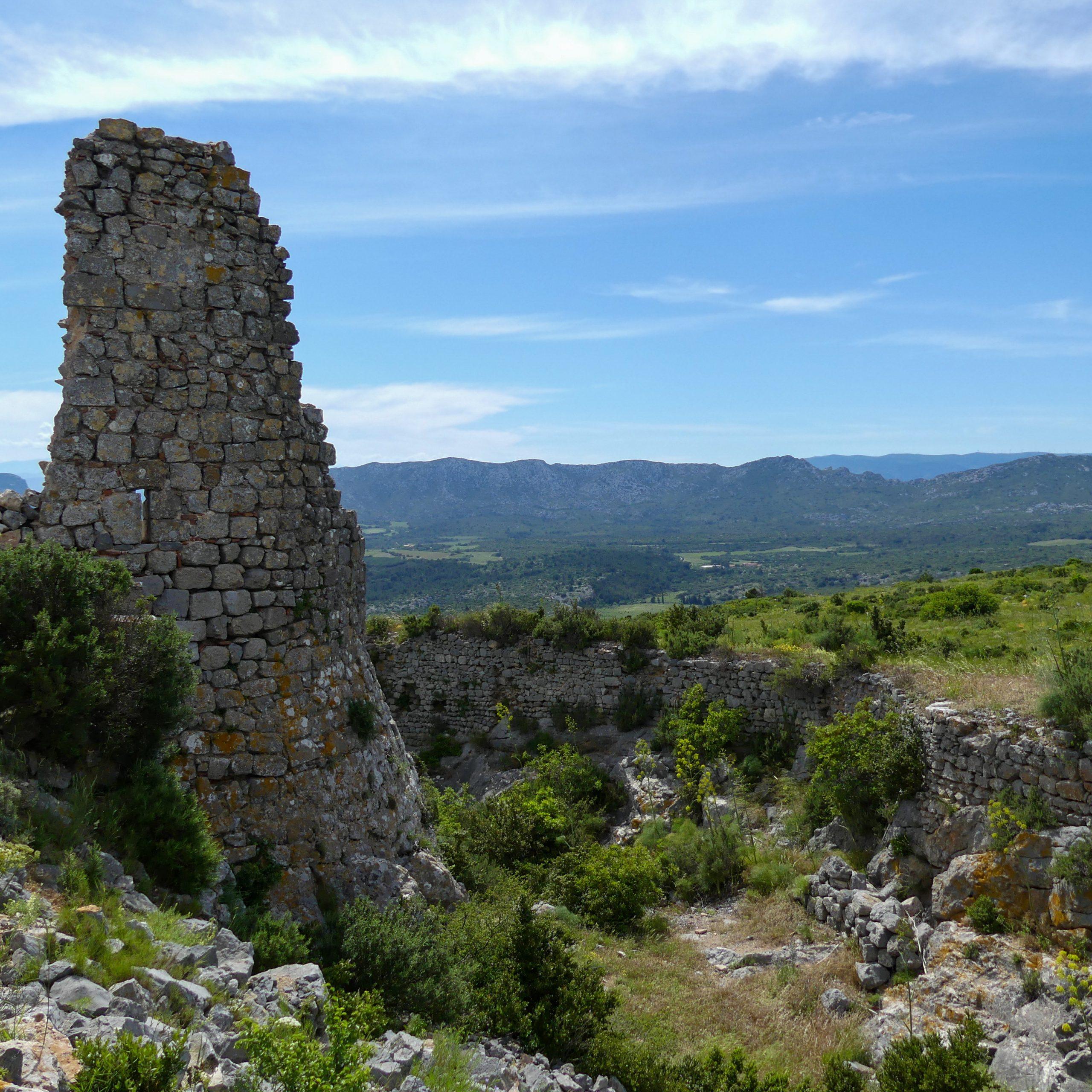 château d'Opoul