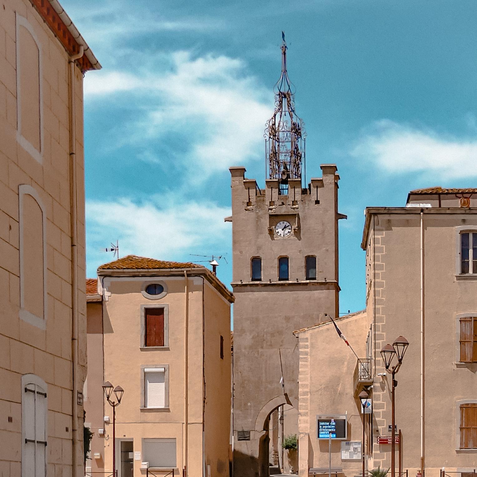 Tour de l'horloge La Palme
