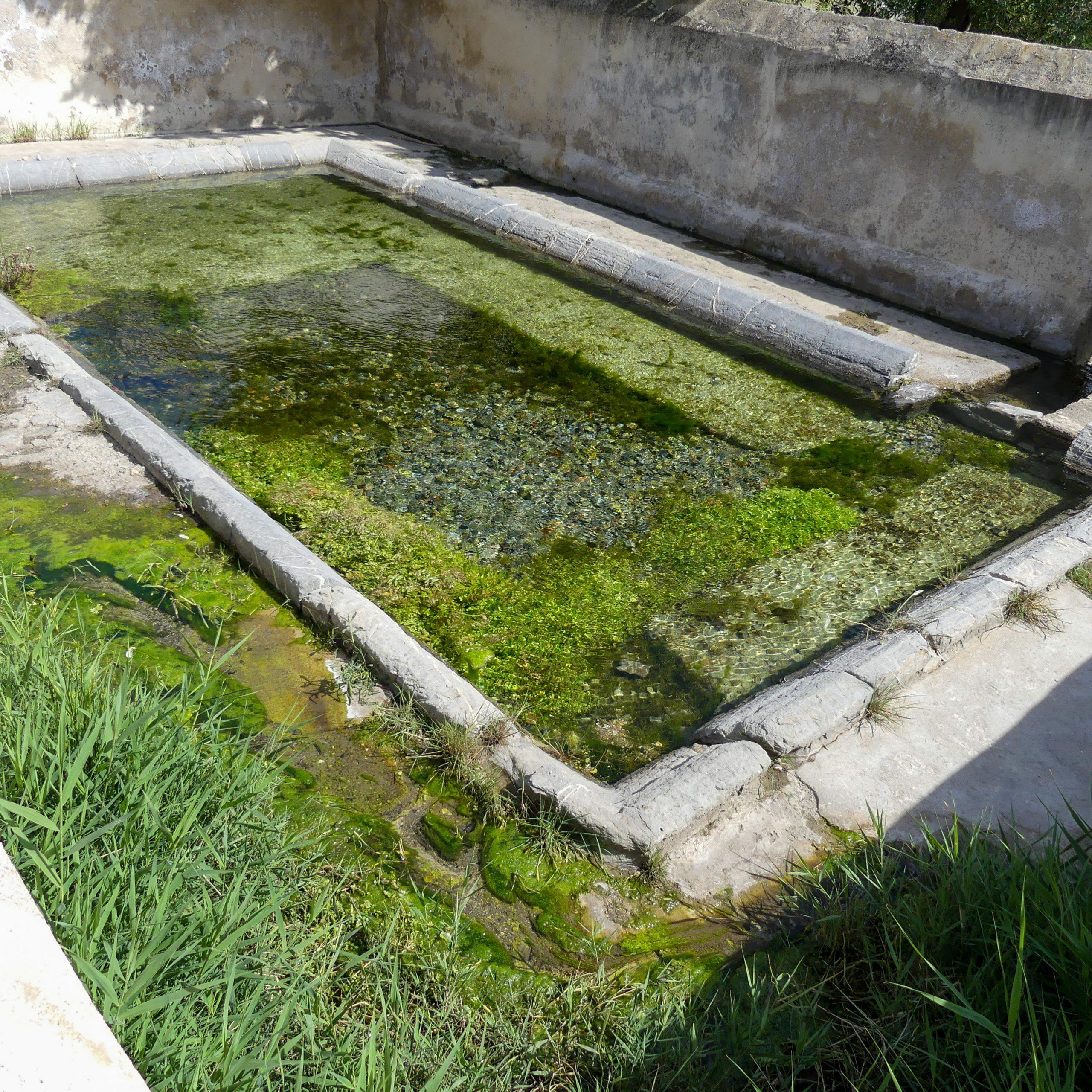 lavoir du village La Palme