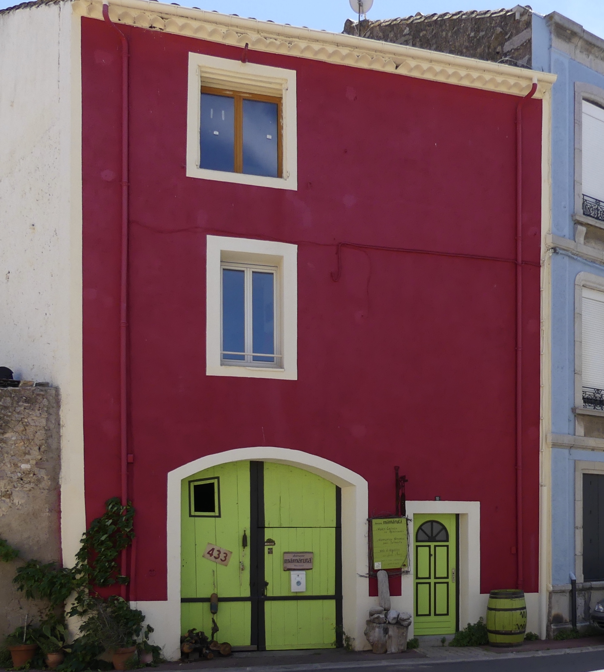 village de La Palme