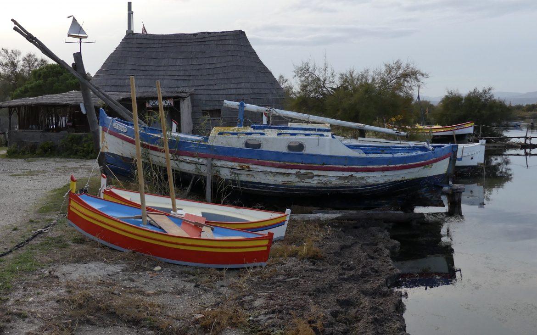 Les barques catalanes de La Bonanca Saint Hippolyte